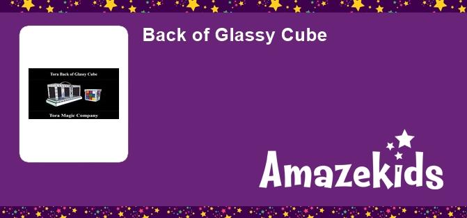 Back of Glassy Cube
