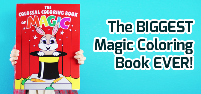 Colossal Coloring Book of Magic