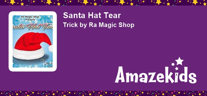 Santa Hat Tear