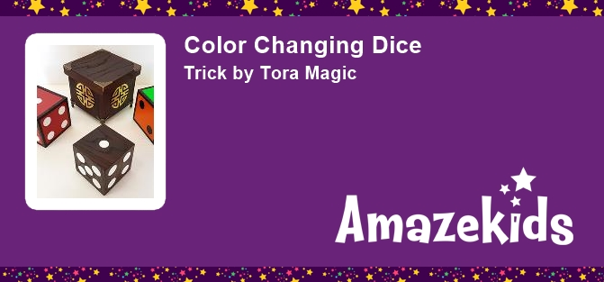 Color Changing Dice