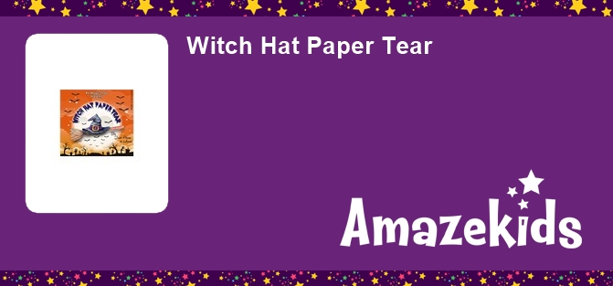 Witch Hat Paper Tear