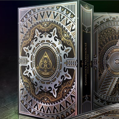 Alloy Copper Playing Cards Special Numbe…