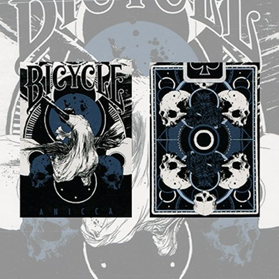 Anicca Deck (Metallic Blue)