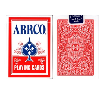 ARRCO Playing Cards - Red