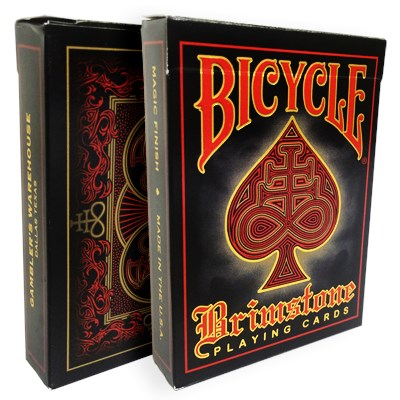 Bicycle Brimstone Playing Cards (Red Lim…