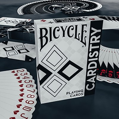 Bicycle Cardistry Black and White P