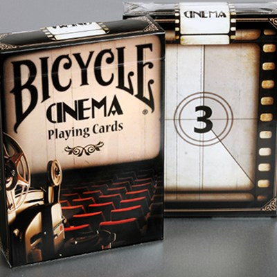 Bicycle Cinema Playing Cards