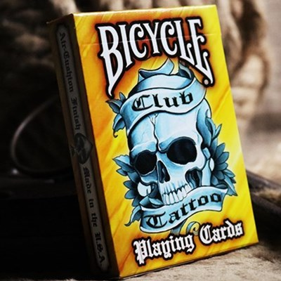 Bicycle Club Tattoo  Playing Cards (Oran…