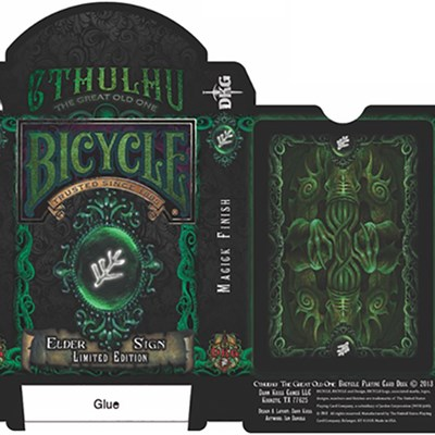 Bicycle Elder Sign Playing Cards