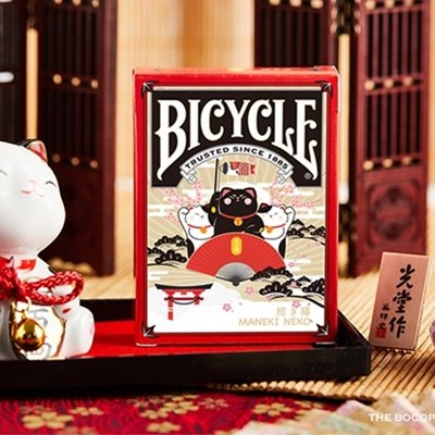 Bicycle Maneki Neko Playing Cards