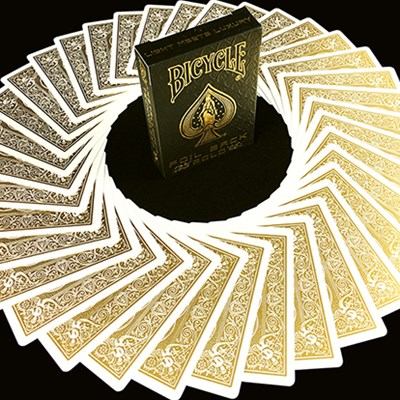 Bicycle MetalLuxe Gold Playing Cards Lim…