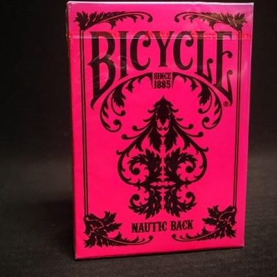 Bicycle Nautic Pink Playing Cards