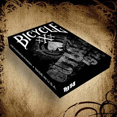 Bicycle xXx Outlaw Playing Cards
