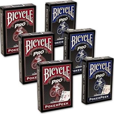 Bicycle Poker Peek Pro Playing Cards (6-…