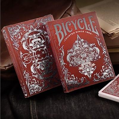 Bicycle Spirit II Red MetalLuxe Playing …