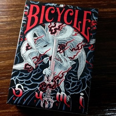 Bicycle Sumi Kitsune Playing Cards (Stan…