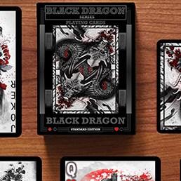 Black Dragon Series Playing Cards