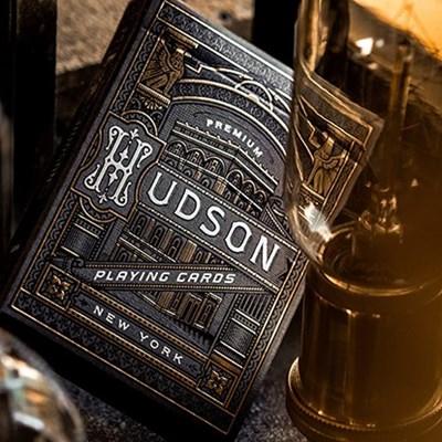 Black Hudson Playing Cards