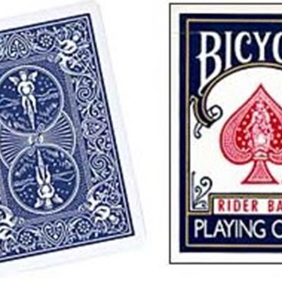 Bicycle Blank Face Cards