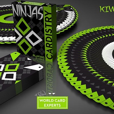 Cardistry Kiwi Ninjas  Playing Card