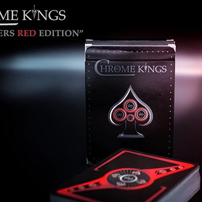 Chrome Kings Playing Cards (Players Red …