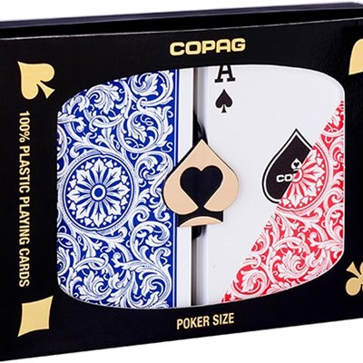 Copag Plastic Playing Cards Double-Deck …