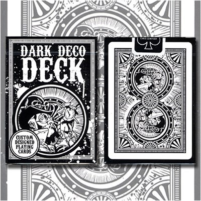 Dark Deco Playing Cards