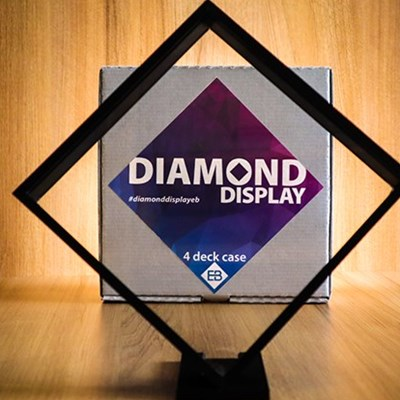 Diamond Display - 4 Playing Card Case
