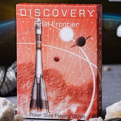 Discovery Final Frontier Playing Cards