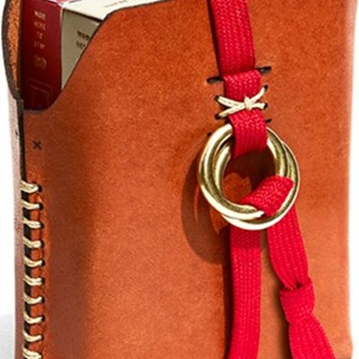 Double Leather Card Case