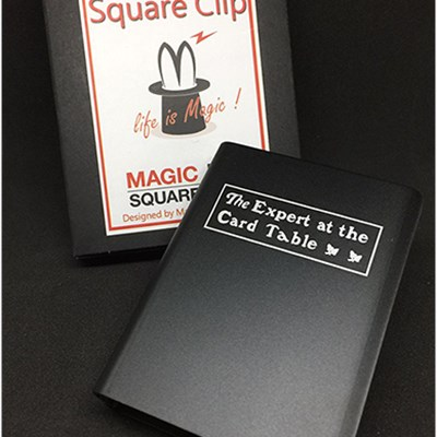 Expert At The Card Table Card Clip