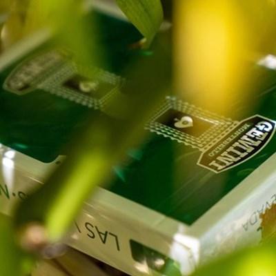 Gemini Casino Emerald Green Playing Card…