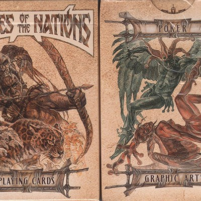 Heroes of the Nations Playing Cards