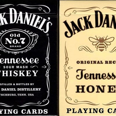 Jack Daniel's Black/Honey Set Playing Ca…
