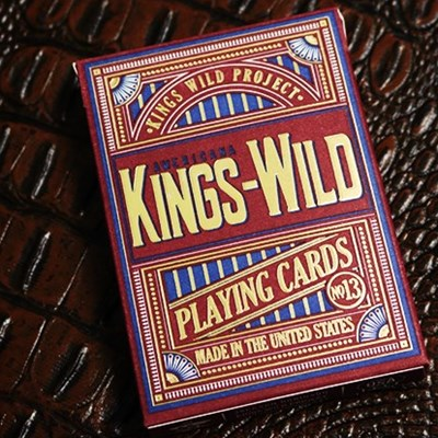 Kings Wild Americana Gilded Playing Card…
