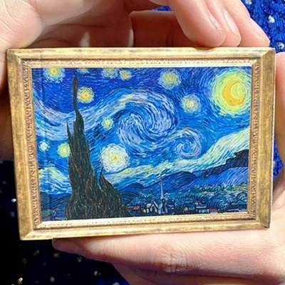 Gilded Vincent van Gogh The Starry Night…