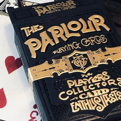 Limited Edition The Parlour Playing Card…