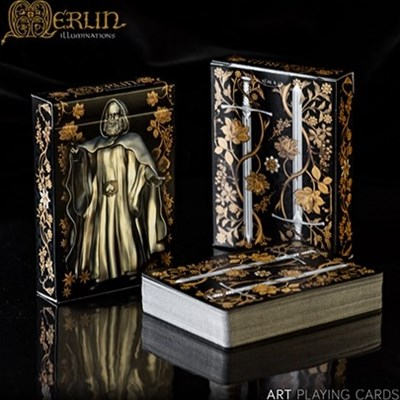 Merlin Illuminations Playing Cards