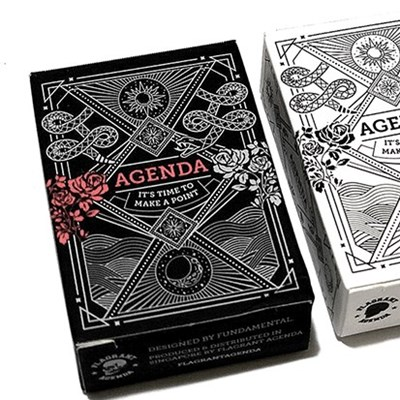 Mini Agenda Playing Cards