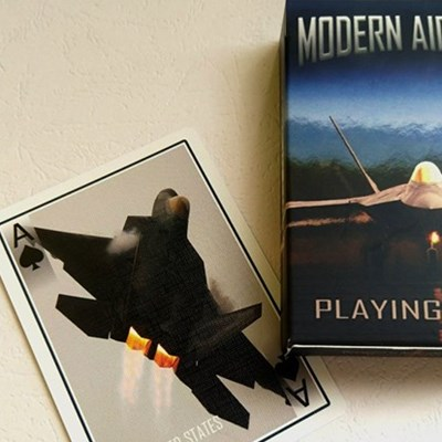 Modern Aircraft Playing Cards