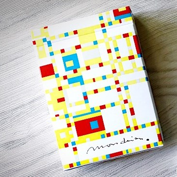 Mondrian Broadway Playing Cards
