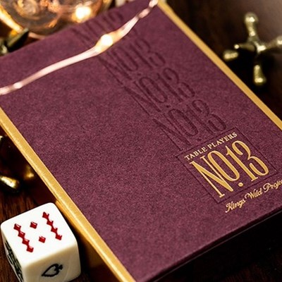 No.13 Table Players Edition Playing Card…