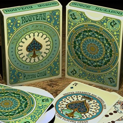 Nouveau Playing Cards - United Cardists …