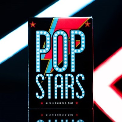Pop Star Playing Cards