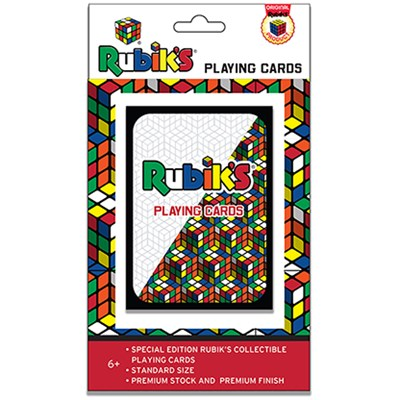 Rubik's Cube Playing Cards