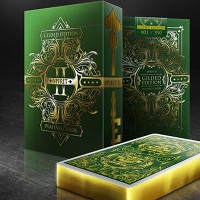 Spirit II Green  Playing Cards
