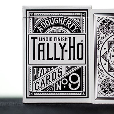 White Tally-Ho  Playing Cards (Fan