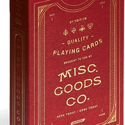 MGCO Playing Cards