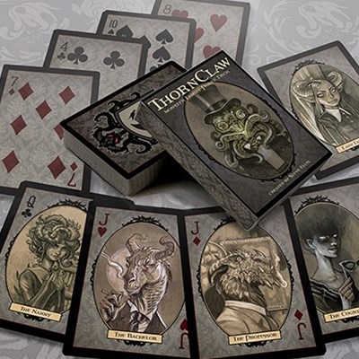 Thornclaw Manor Playing Cards