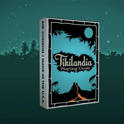 Tikilandia Playing Cards Printed